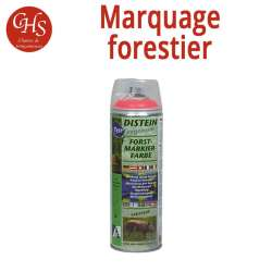 Traceur forestier FLUO ROUGE