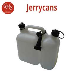 Jerrycan double usage 1.5 + 3.5 L